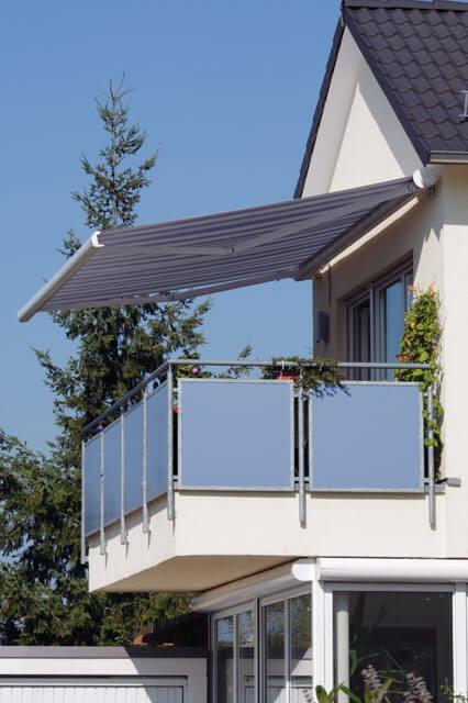 Markisen zum Schutz vor Sonne bei Bumberger Raumausstattung